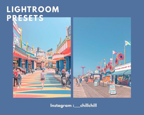 ♡Lightroom 繽紛夢幻色調 少女必備♥︎♥︎Lightroom繽紛夢幻色調♥︎/圖片來源:P
