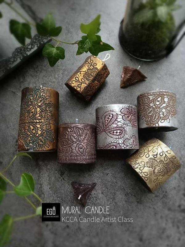 低調優雅自帶美光~壁畫蠟燭!這幾年很流行韓式香氛蠟燭,求其是以花草結合的韓式蠟燭特別受歡迎~不過花雖
