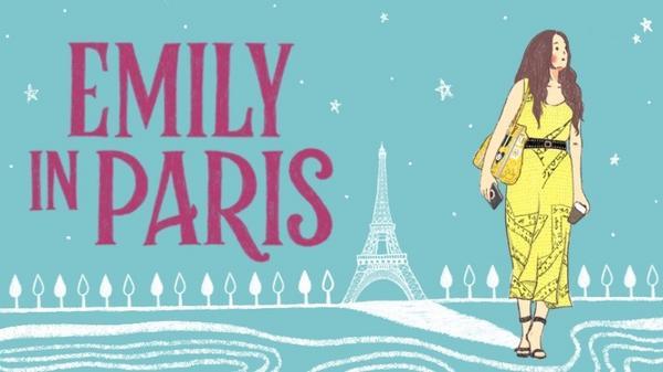 插畫桌布|《艾蜜莉在巴黎》的經典少女穿搭風格手機桌布
