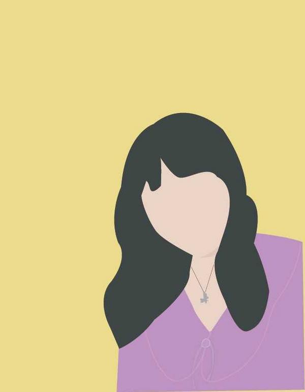 我的似顏繪☁️最近我的姐姐愛上繪製似顏繪👩💼 風格比較偏向韓風,真的好喜歡❤️ 第一次「被」畫