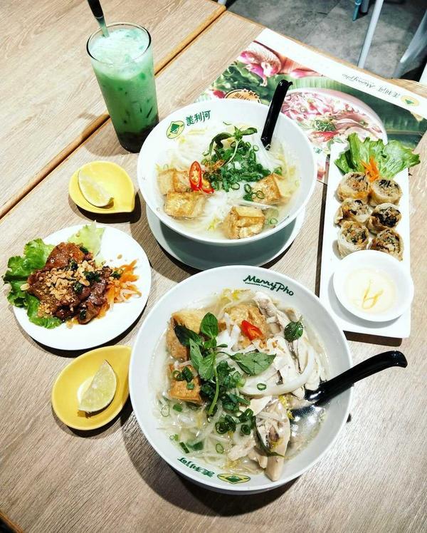 """👉#旅人呷新竹 這幾天大家都在喊吃烤肉,那我來介紹個#越式料理 😂 價位在""""竹北餐廳戰"""