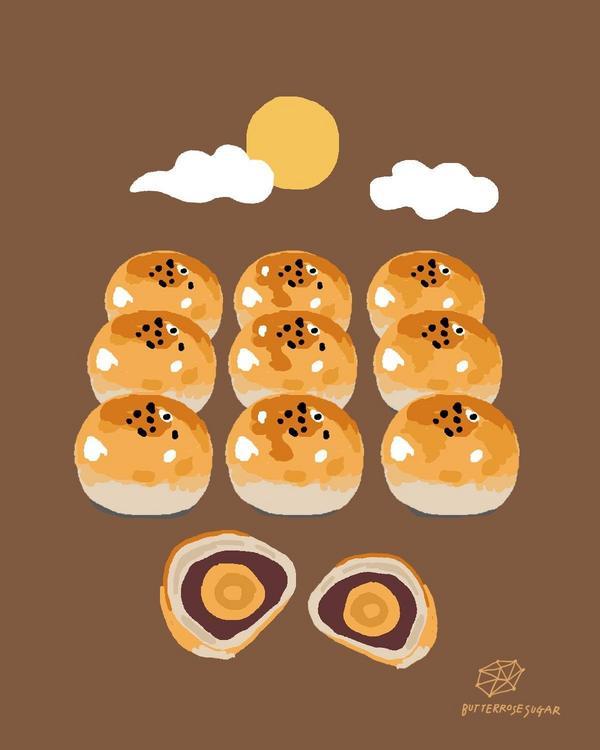 【中秋節快樂】🌝內文有小禮物🌝中秋節到了~~~一想到中秋節就想到放假、烤肉、月餅、柚子還有我自己