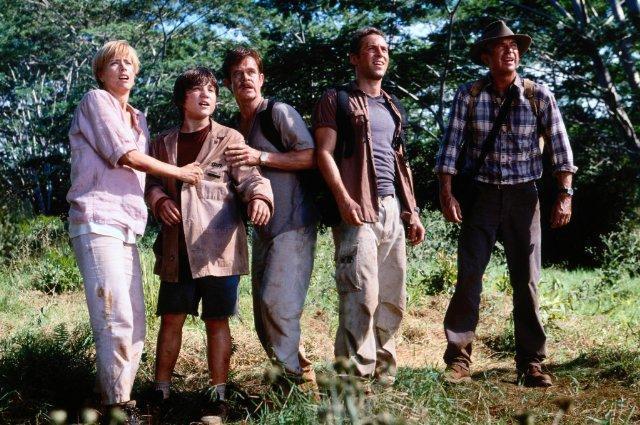 圖片來源: 網路上。《侏儸紀公園3》劇照。