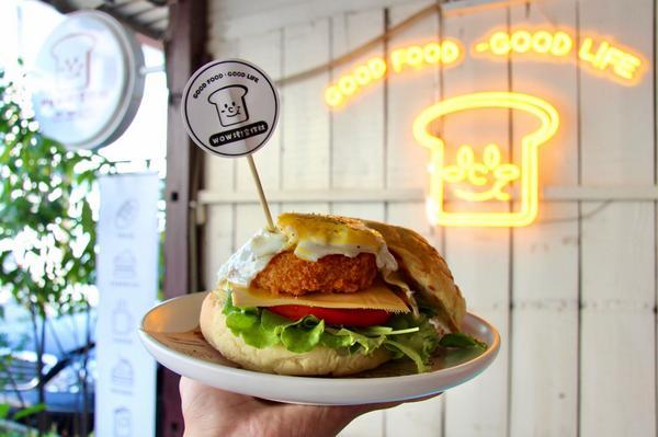 #茶吃嘉義|Wow烤!DJ這次國慶連假的聚會第一站就從早午餐開始🤣 店家堅持使用自製吐司、麵包 由