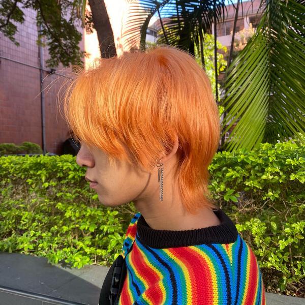 2020大勢色♡ 芬達汽水  白皮黃皮都超適合的顏色 陽光下超美的啦 IG有影片🥺 橘色真的是夏天