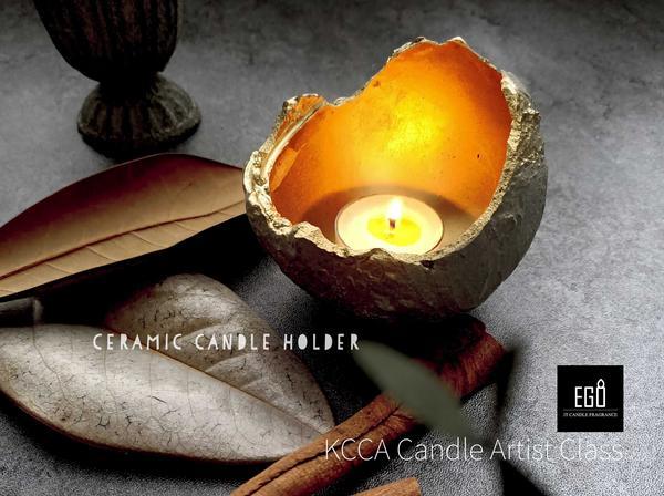 """我把光收在這裡!復古工業是我非常喜歡的風格,灰冷的水泥遇上溫暖的燭光,有種低調個性的氣息. """"KCC"""