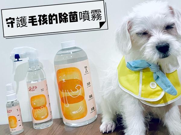 【寵物】守護毛小孩的清潔用品-必可淨 B-Clean自從認養了三個月大的嚕咪之後,家中地板到處都是嚕