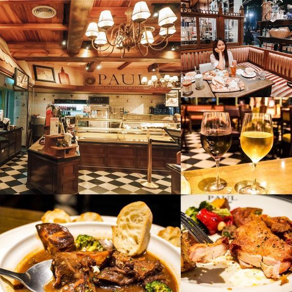 Paul仁愛店 極具浪漫復古的法式餐廳,有種置身於19世紀皇室貴族餐廳用餐! 台北法式餐廳推薦、Pa