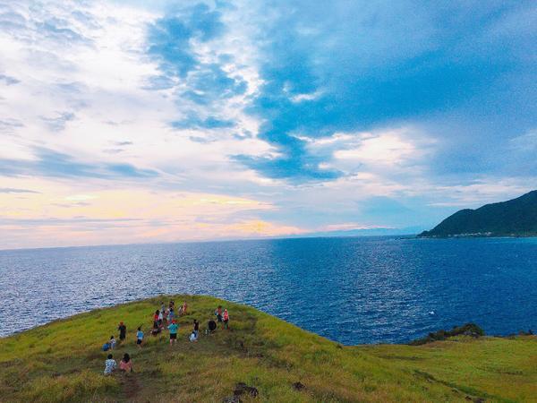◤ 蘭嶼 ◢  一望無際的藍天大海綠地 ◎ 青青草原