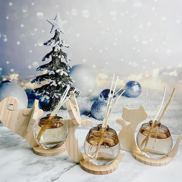 聖誕禮物首選,擴香屬於充滿迷人的香氣聖誕交換禮物一直都喜歡在浴室跟房間及辦公室內放上擴香,讓空氣中充