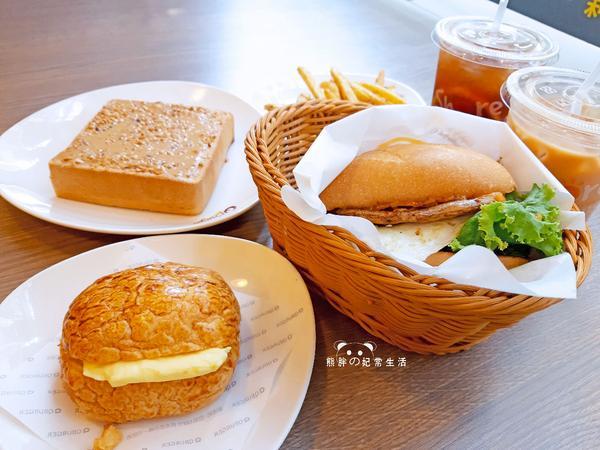 【台中西區】Q Burger台中精誠店早午餐推薦,精誠商圈港式早午餐新選擇,道地與否就端看個人的見解