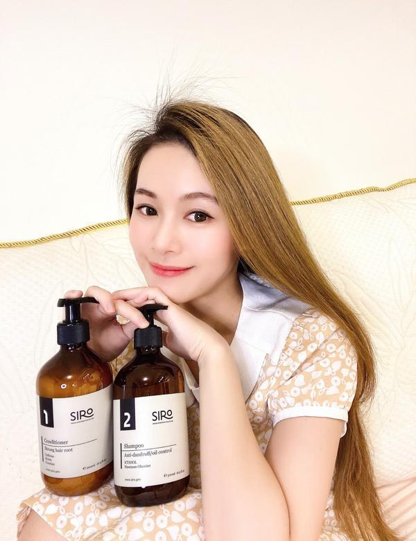 日常洗頭兼顧【頭皮保養】用這瓶!!!髮根到了下午依然清清爽爽的!!!記得選擇SIRO2號極度控油抗屑