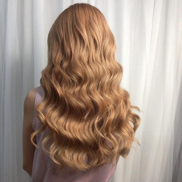接髮羽毛無感接髮 #愛麗絲奶茶色  需漂髮 染一個歐妮的髮色 頭髮覺得太少嗎? 怎麼留都留不長嗎?