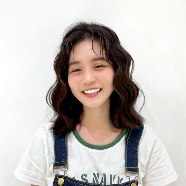 韓系慵懶波紋捲- #ᵛᴵᵛᴵ設計款🤞🏻 漂漂波紋配上甜死人的笑容 真的會融化那種😍 - 💈採