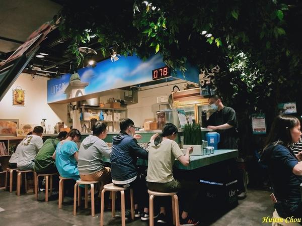 下班後的食堂:山下公園山下公園,光是看店名很難猜出這間日本拉麵店,我是在金典5樓上完瑜珈課後來到3樓