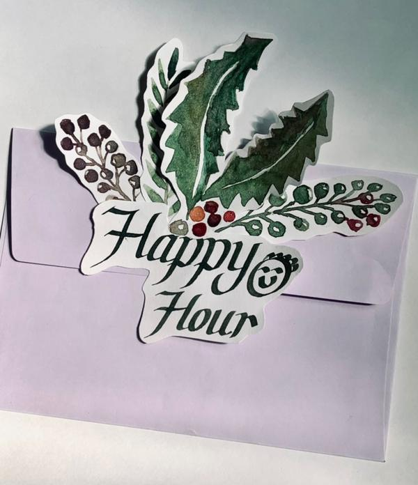 The best Happy Hour 🎄🌲🌳Writing ✍️ the Creative