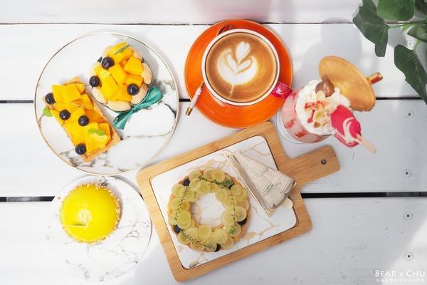 細膩動人的法式甜點蛋糕・桃園藝文特區下午茶日食Eclipse Cafe午後與朋友相聚在桃園藝文特區附