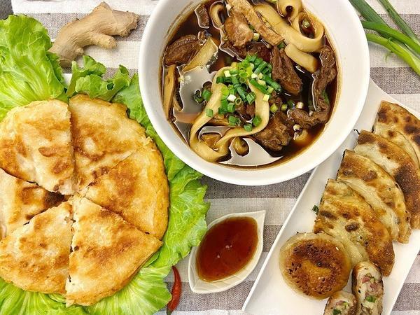 #FAT伊娜【宅配美食】牛雜大王牛肉麵、1.5cm特厚蝦餅,美食在家輕鬆開飯| 良品開飯不知道大家有