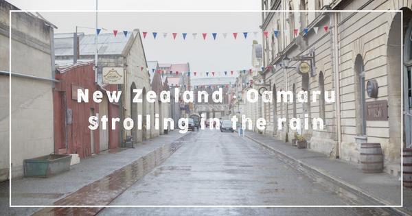 【紐西蘭】奧瑪魯 Oamaru | 雨天漫步企鵝小鎮紐西蘭自由行難得來到這座美麗的企鵝小鎮&nbsp