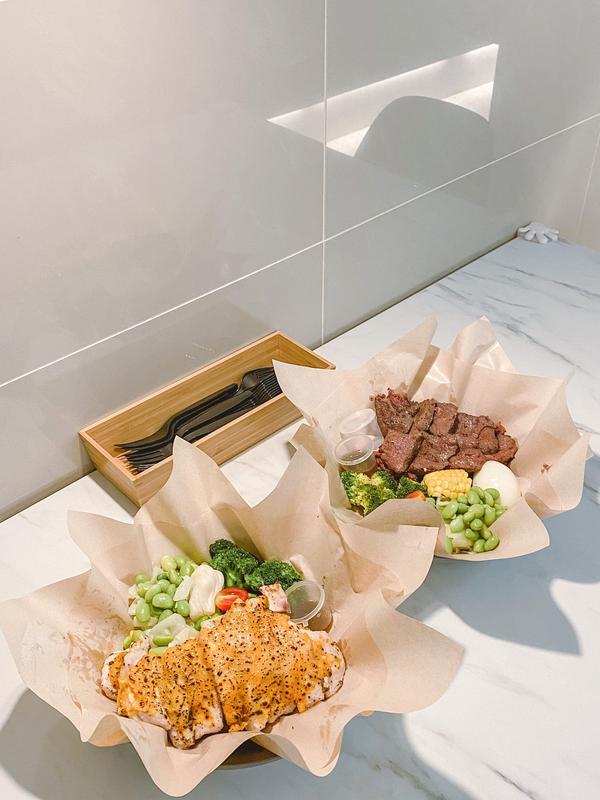 偷味道工作室🍳健康餐盒- #偷味道工作室 #內湖店  - 🐓炙燒南瓜起司雞胸 💰NTD:160