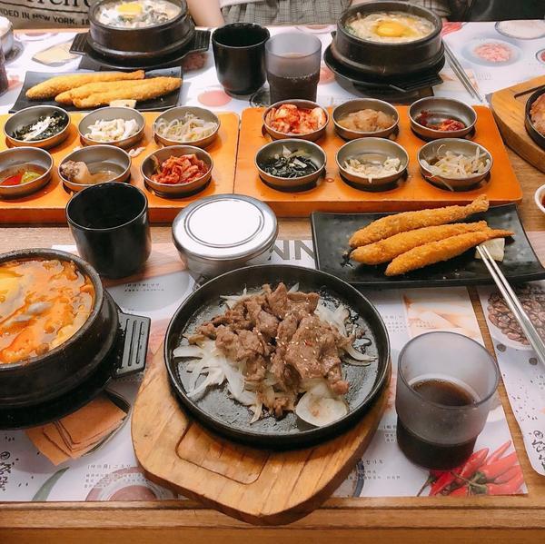 台北▪️台北車站美食▪️飯饌韓式料理—————————————— 👉歡迎追蹤我的ig:cuteru