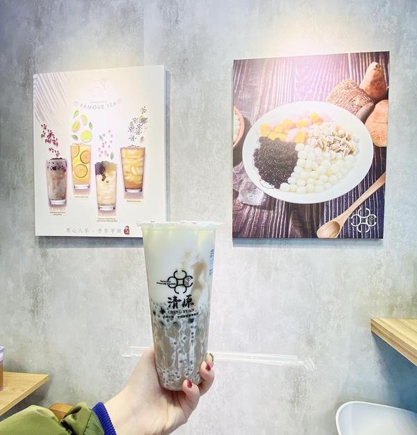 📍清原 熱愛芋頭的朋友們快跟上 😋📍清原連城店 #芋見泥珍好  好好喝😋 #小樂吃貨日常 #