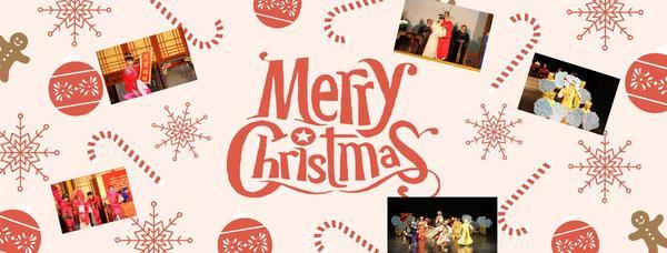 聖誕快樂 歡喜迎新年 Merry Christmas & Happy New Year 祝大家聖誕快