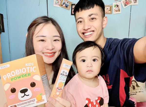 過敏體質的救星-適合寶寶的 初乳益生菌我跟Tammy爸是嚴重的敏感體質 Tammy一出生我們就很注重