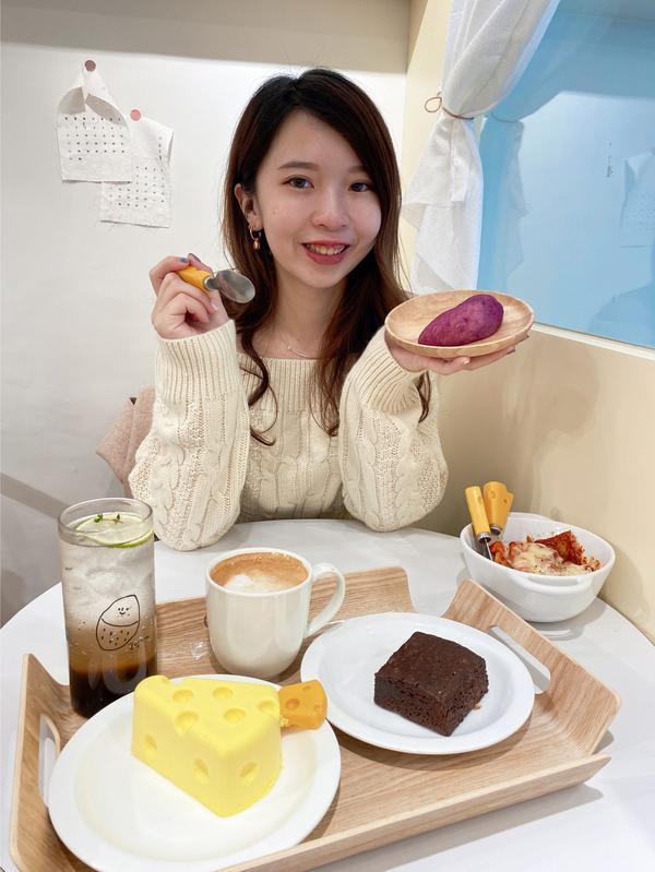 【美食】台北韓風咖啡廳❤️超可愛的起司蛋糕🧀️ ChocoChez Bakery 捷運大安站 ~韓