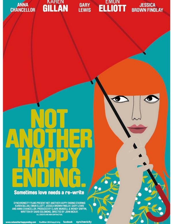 聊電影 《再見完美結局》Not Another Happy Ending,最終還是完美結局。這是一部