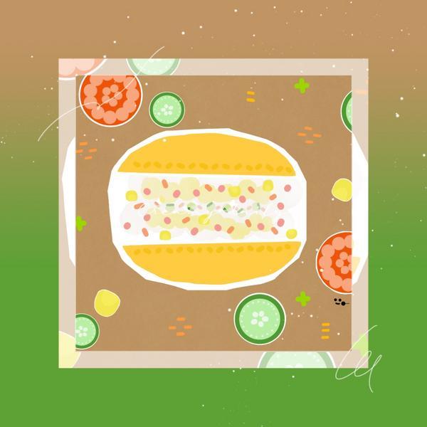 [食記]Nozomi Bakery\非業配請安心食用/通常麵包店只要有賣馬鈴薯沙拉,我一定會買來吃看