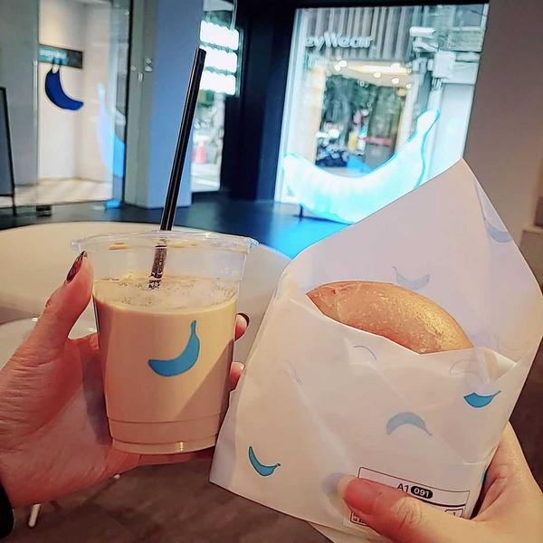 Banana Blue Coffee👉號稱台版藍瓶子!!咖啡CP值超高!!藍香蕉竟然可以選咖啡豆焙
