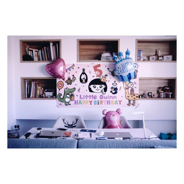 [1212] [5歲生日快樂 6週年結婚紀念] [5年前生了這個7星女] [曾說過每年的生日] [都