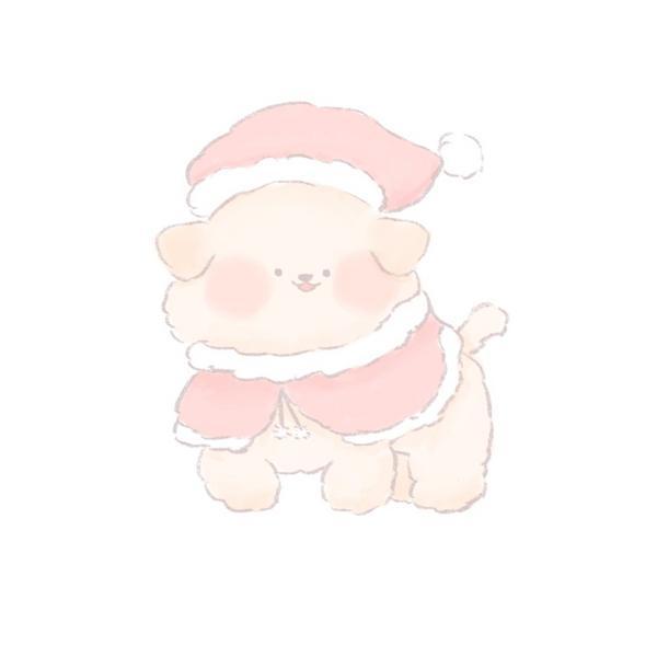 〖插畫〗小小黃金獵犬ver 聖誕聖誕節快到了讓小小的黃金獵犬穿上聖誕裝汪汪!!〖ɪɴsᴛᴀɢʀᴀᴍ: