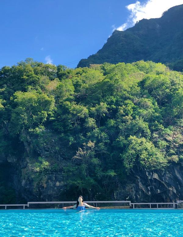 花蓮|太魯閣晶英酒店 山水澗|座落在峽谷中的無邊際泳池因為太喜歡太魯閣晶英酒店的泳池惹所