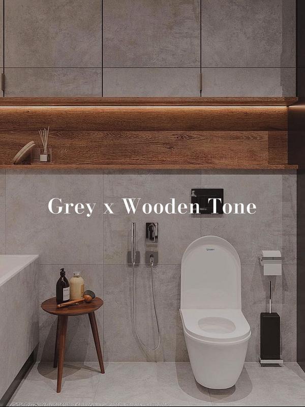 ɢʀᴇʏ ᴛᴏɴᴇ|灰色調IT'S FRIYAY!!!!! 🤍🖤這種灰色調搭上木質真的讓人很難抗