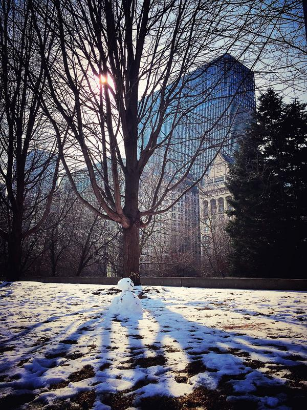 I miss the winter in Chicago  2020的最後一個月的第一天。  這一年