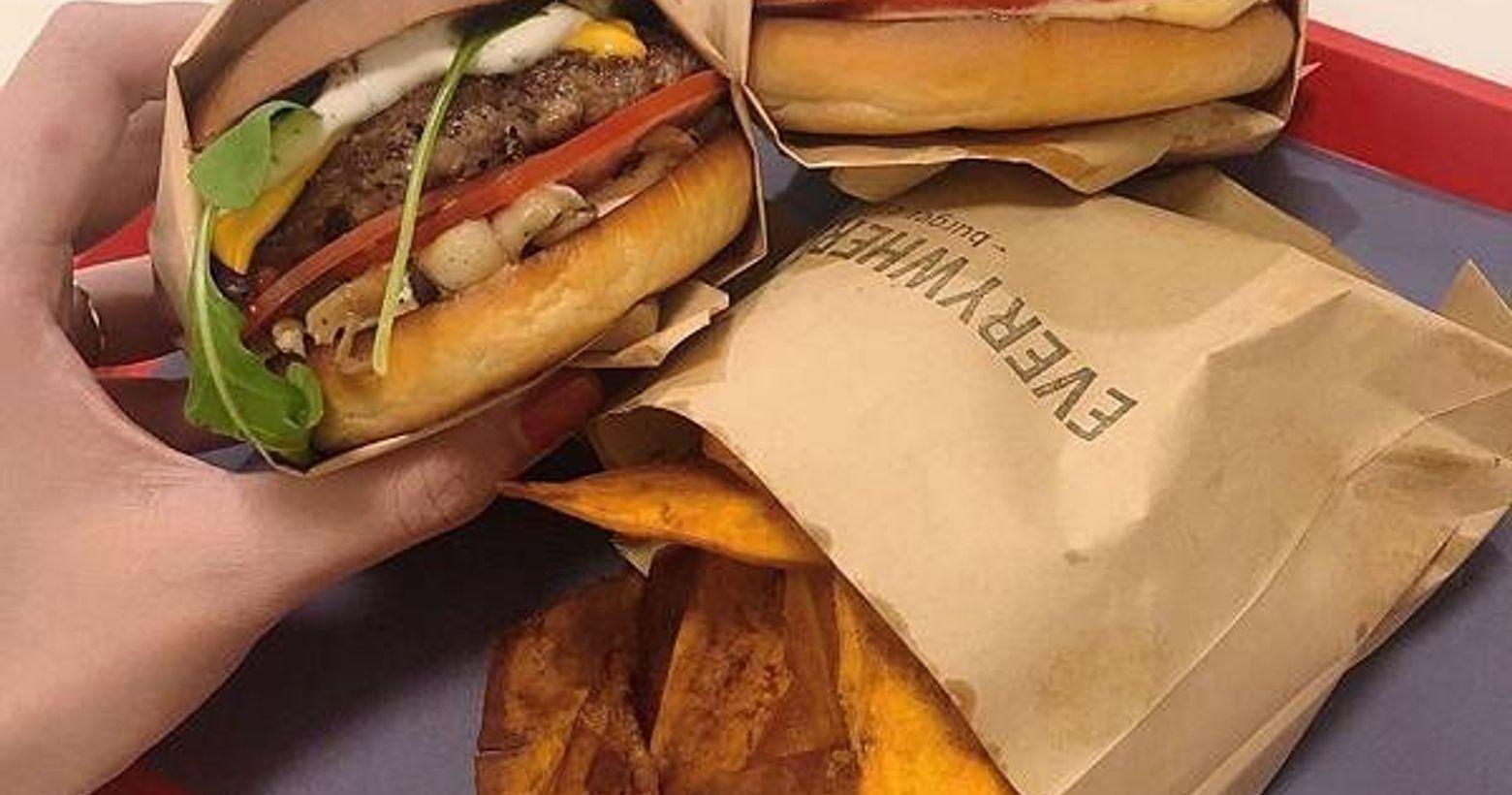 台北。大安|Everywhere burger club 漢堡俱樂部|招牌酸黃瓜醬根本無敵!沒有美國