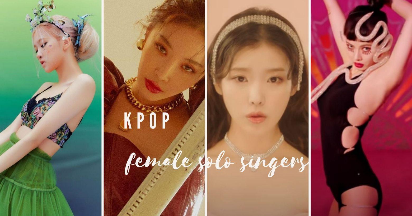 韓流快報!近期回歸的solo女歌手,甜美火辣通通都有,哪個是你的Pick呢?1月底韓國歌壇超級熱鬧,