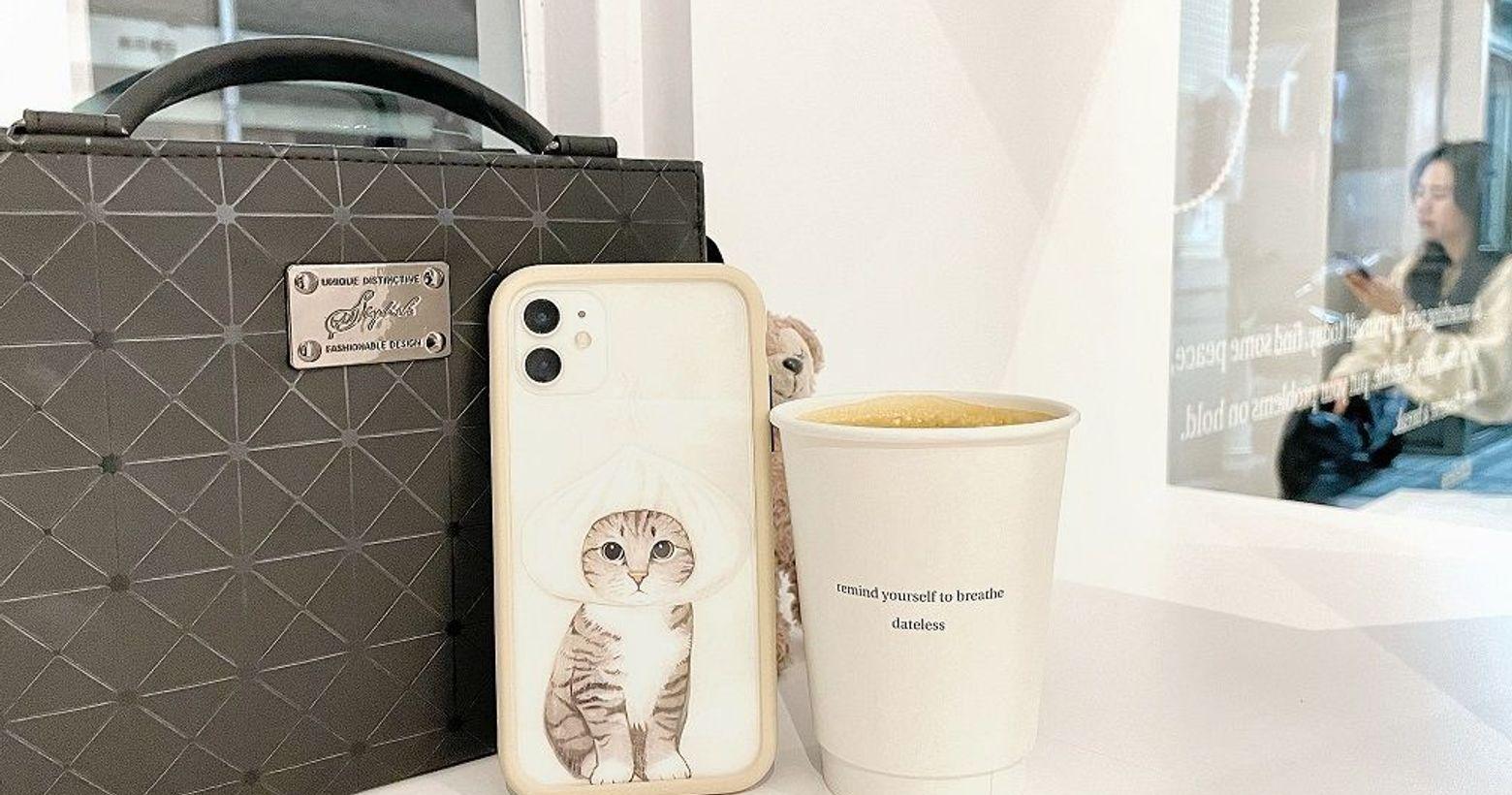 【分享】超可愛肉包貓手機殼|惡魔二代防摔殼iphone11買一年了,結果還在用剛買手機暫時保護的透明