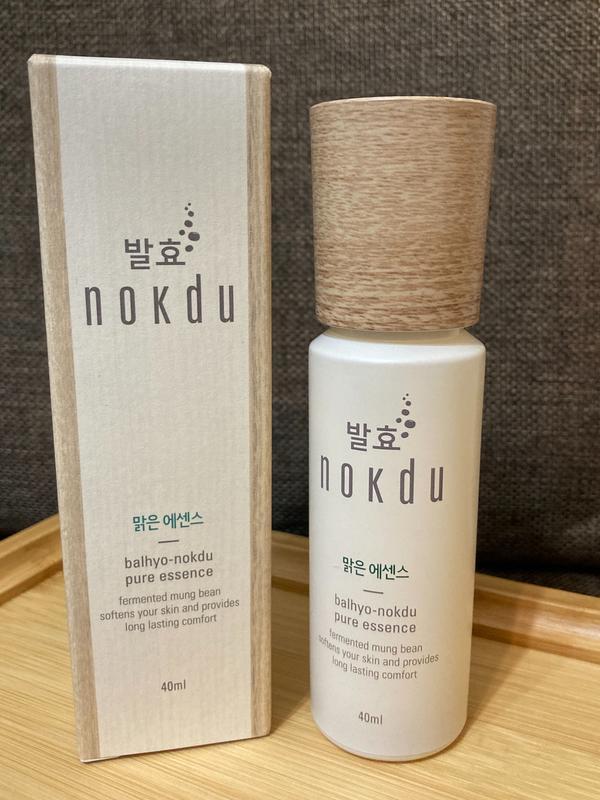 nokdu 發酵綠豆抗老化精華液來自韓國nokdu 發酵綠豆抗老化精華液~ 清爽不黏膩~全膚質適用