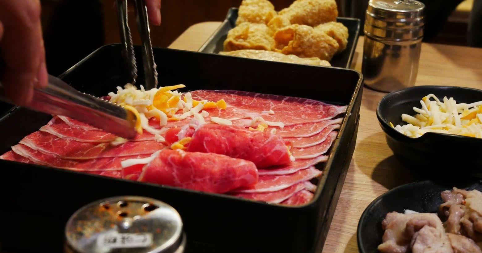 [台北壽喜燒吃到飽]高CP值吃到飽壽喜燒-潮肉壽喜燒找了一家位於國父紀念館站附近的壽喜燒店-潮肉壽