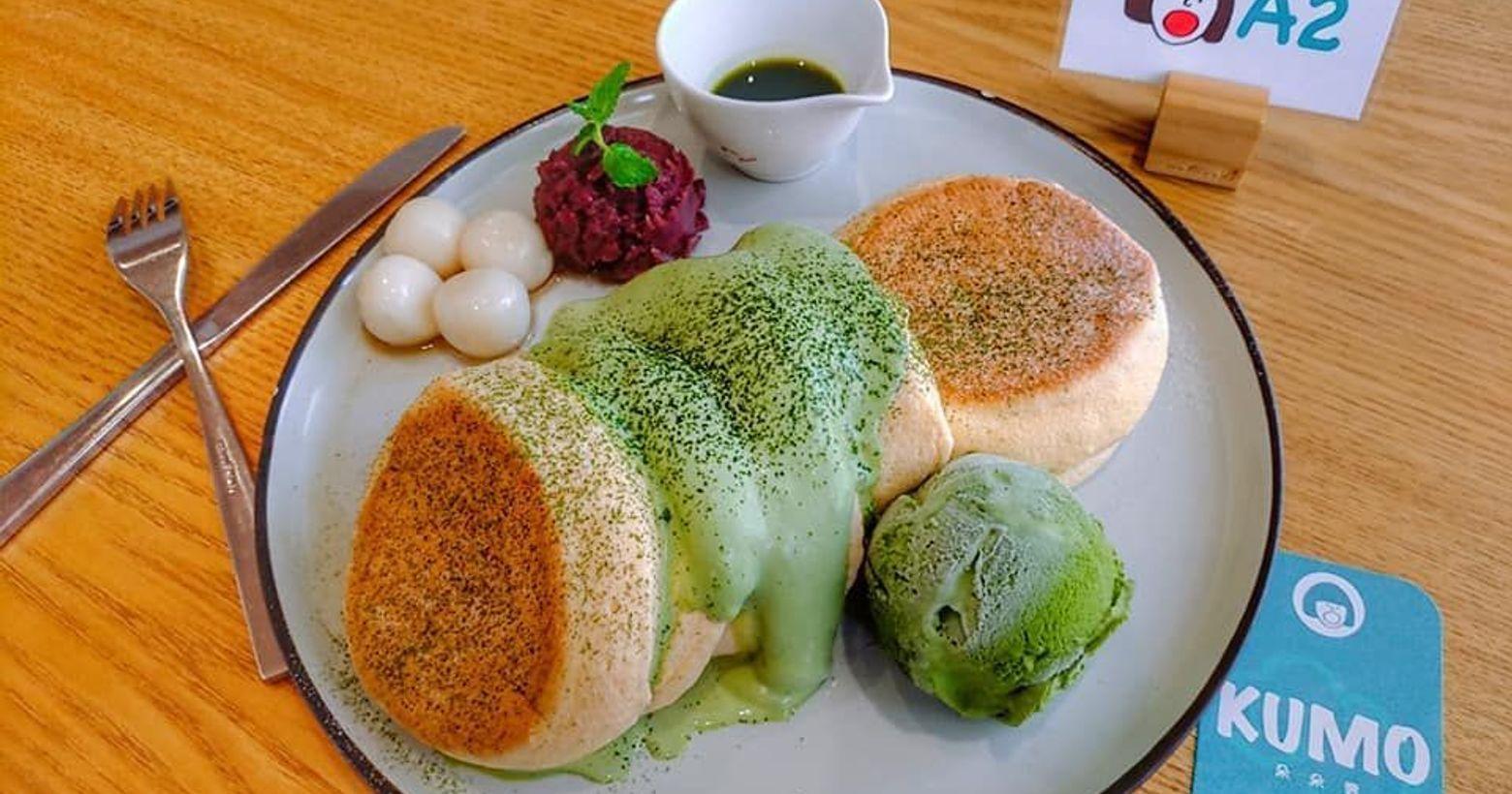 Kumo朵朵雲🌸台中美食介紹🌸想吃鬆餅就來這間KUMO朵朵雲日式厚鬆餅|職人咖啡翻開菜單有很多