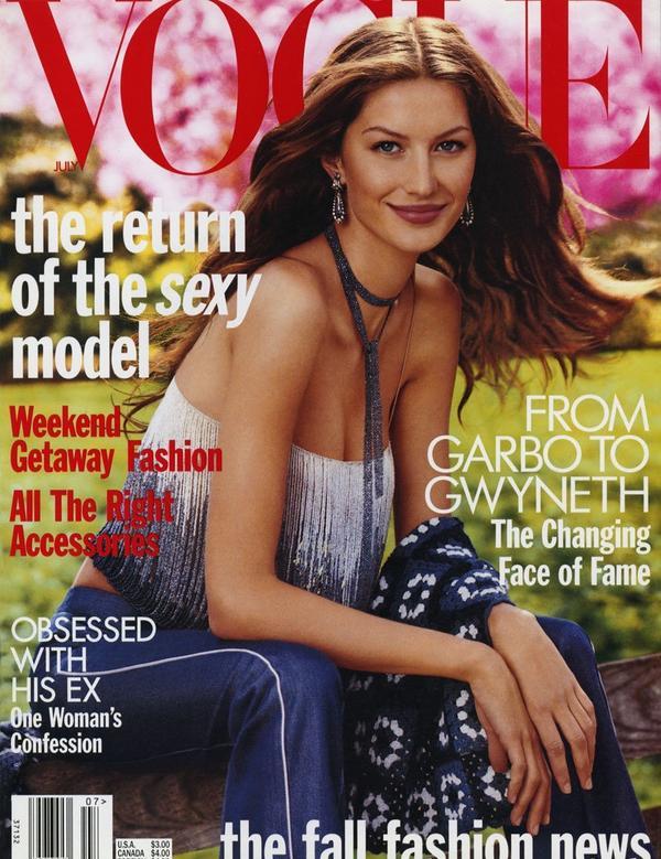 1962~2020年間年度擁有最多Vogue封面模特兒上回分享Vogue巴黎版歷年來擁有最多次封面模