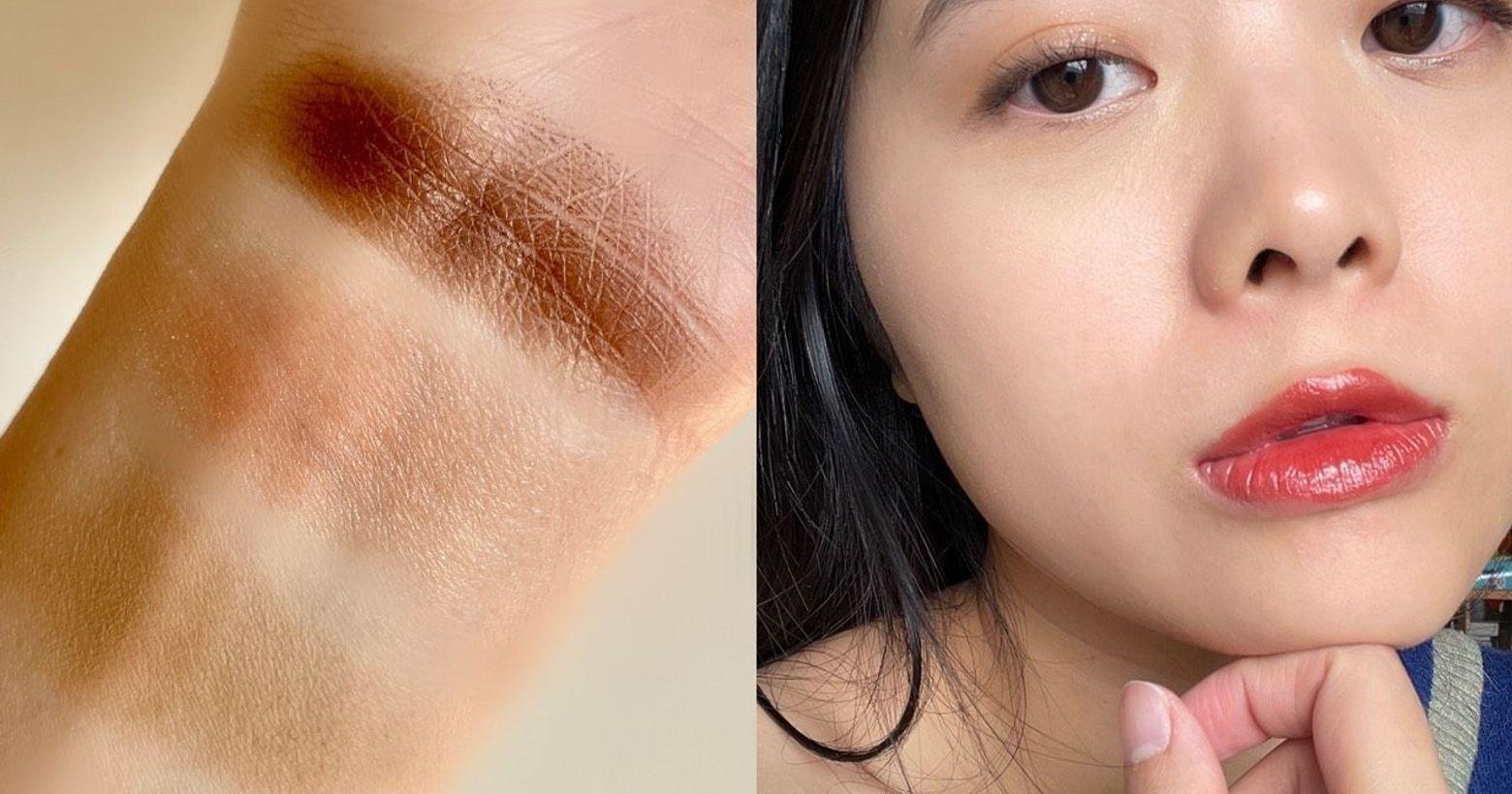質感栗子色系眼妝這是很日常,很好畫的淡妝,可以自行找到相近顏色取代A色:接近膚色的卡其色/修容色B色