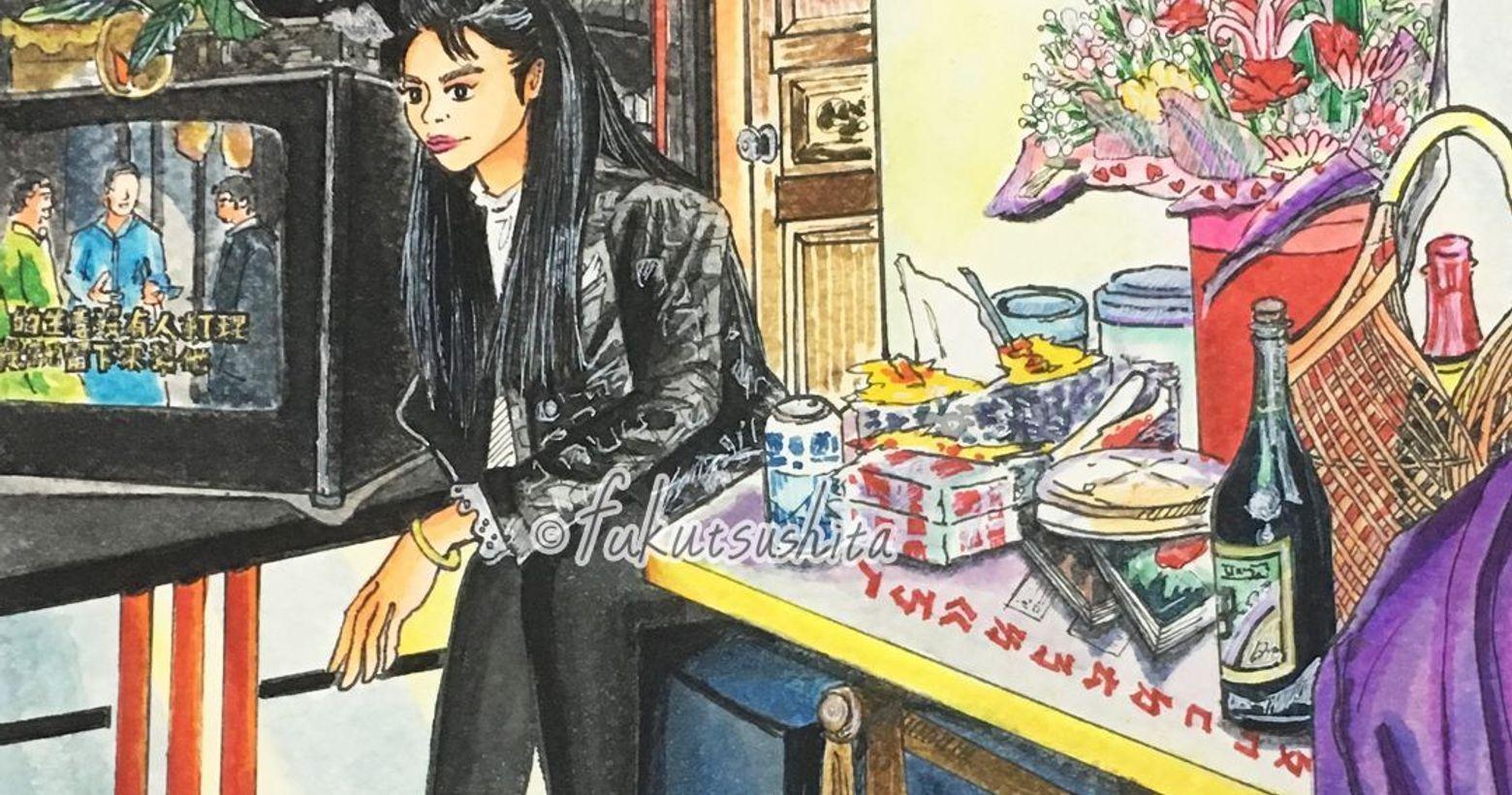 1992年/復古穿搭台湾、90年代の初頭-女子のコーデ🎉BLACKXPARTTY-1992年所拍