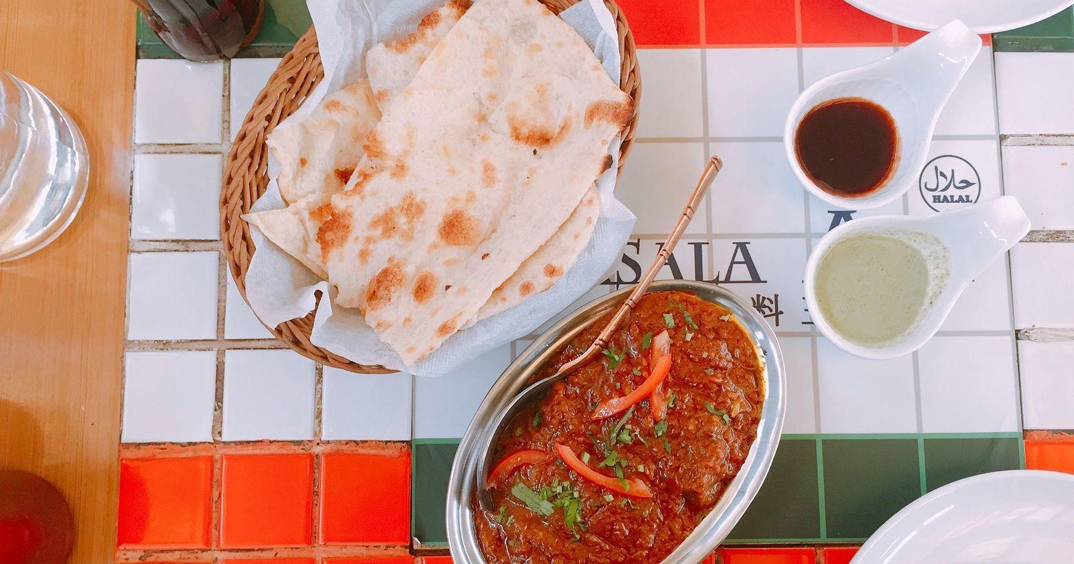台北中山 超道地印度口味的印度香料王🥘印度香料王餐廳從天母的小攤販開始起家目前在永和及