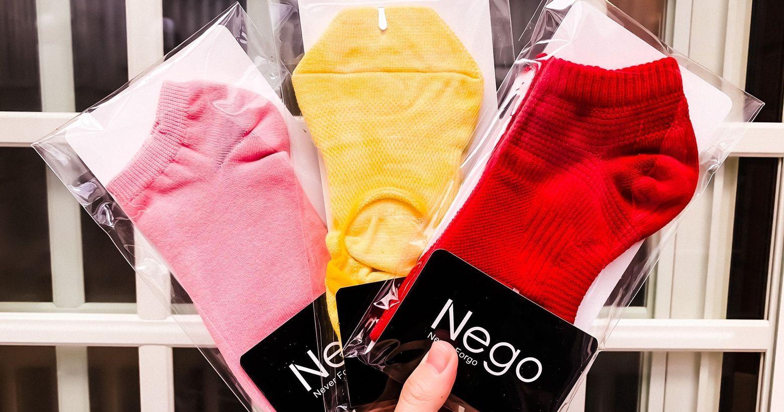 【開箱】要就要用最好的Nego襪子大學過年穿新衣戴新帽,當然也要穿新襪啦!說起來買襪子也是一門學問,