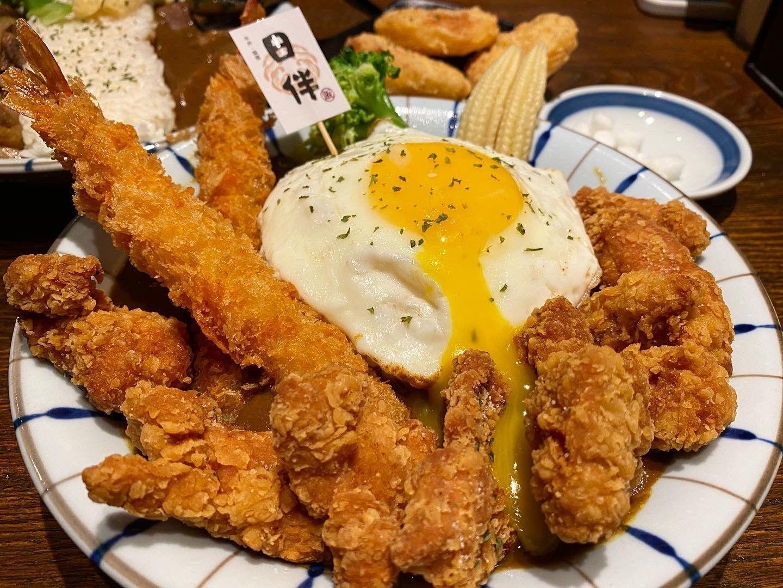 台中勤美美食|勤美小巷內的高CP日式咖哩「日伴洋食」!