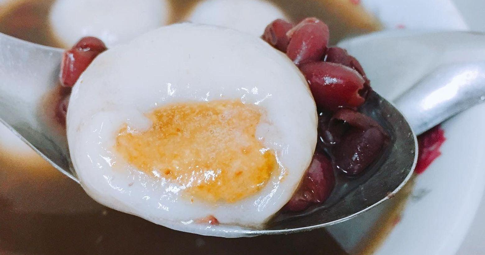 台北 南機場夜市最夯最大顆的八棟湯圓🥣冬天的時候來一碗熱呼呼的湯圓最能補寒了過年後馬上就要元宵節準